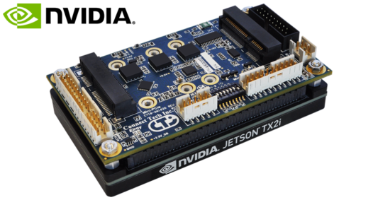 Connect Tech announces support for NVIDIA® Jetson™ TX2i