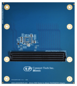 Connect Tech releases new Carrier and Adapter for NVIDIA Jetson  AGX Xavier