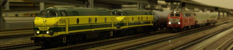 Can a Model Railway improve rail network reliability?